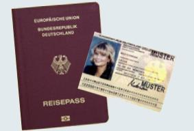 Personalausweis und Reisepass - Abfrage Antragsstatus online